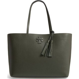 Tory Burch Mcgraw Leather Tote - M
