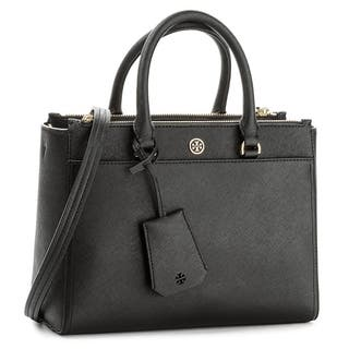Tory Burch Small Robinson Leather Tote - S