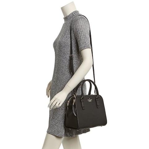 Kate Spade Jackson Street Small Kiernan Black Satchel Bag - S