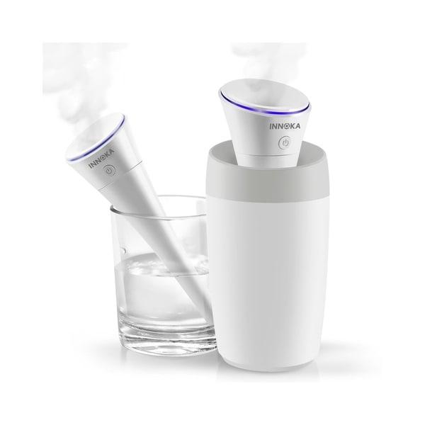 Shop Innoka White 280ml Ultrasonic Portable Usb Travel