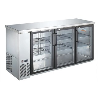 EQ Kitchen Line Underbar 2 Door Refrigerator