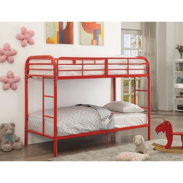 Thomas Twin/Twin Bunk Bed, Red