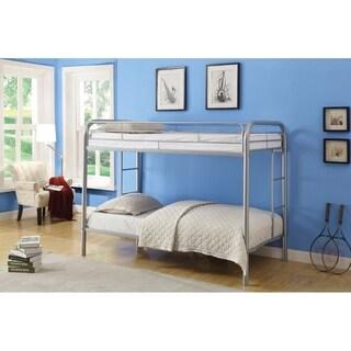 Thomas Twin/Twin Bunk Bed, Silver
