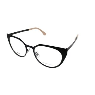 Fendi Cat-Eye FF 0161 003 Women Matte Black Frame Eyeglasses