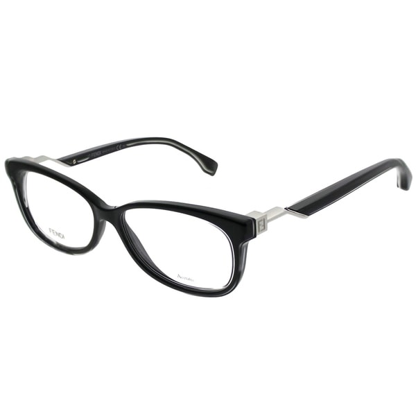0875db801856 Shop Fendi Rimless FF 0233 807 Unisex Black Frame Eyeglasses - Free ...