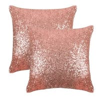 Sparkling Sequins Throw Pillow Covers