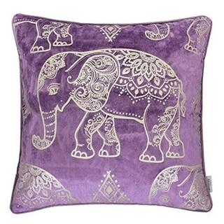 Elephant Luxury Silk Blush Velvet Sofa Couch Pillow Case 20x20