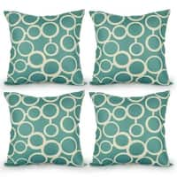 Linen Square Decorative Throw Pillows Cushion Covers