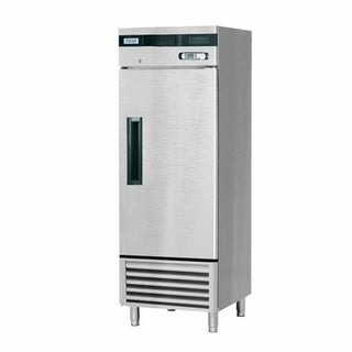 "EQ Kitchen Line SF-23L1 Commercial Standing Freezer, 1 Door, 158 gal, 84"" Height, 30.8"" Width, 27.6"" Length, Stainless Steel"