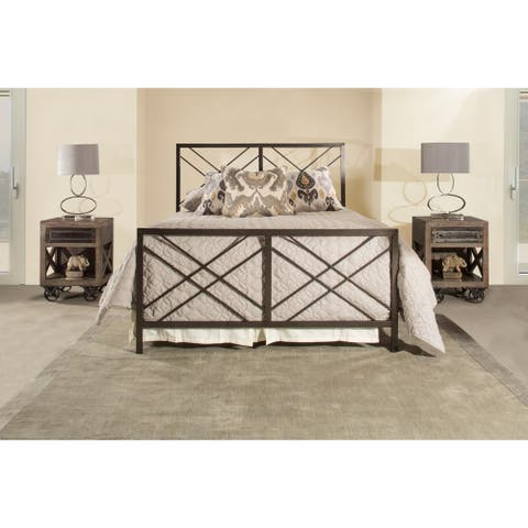Hillsdale Westlake Bed - Twin - Metal Bed Rail Included