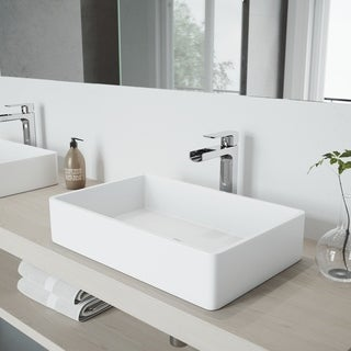 Shop Fontaine Montbeliard Chrome Widespread Bathroom