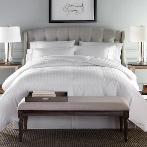 Oversized Damask Hypoallergenic Primaloft Comforter