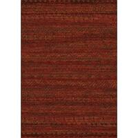 Dynamic Rugs Imperial Red Area Rug - 7'10 x 10'10