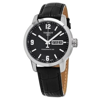 Tissot Men's T063.610.11.03.800 'Tradition' White Dial Stainless Steel Swiss Quartz Watch