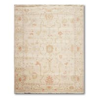 Traditional Turkish Weave Hand-Knotted Oriental Area Rug - Multi - 8' x 10'