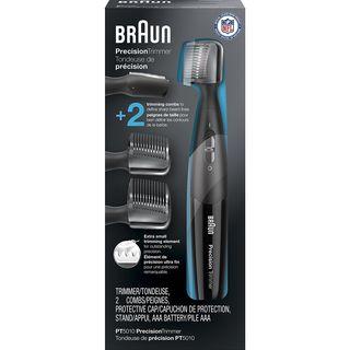 Braun Precision Trimmer PT5010 Men's Precision Beard, Ear & Nose, Mustache Detailer, Styler