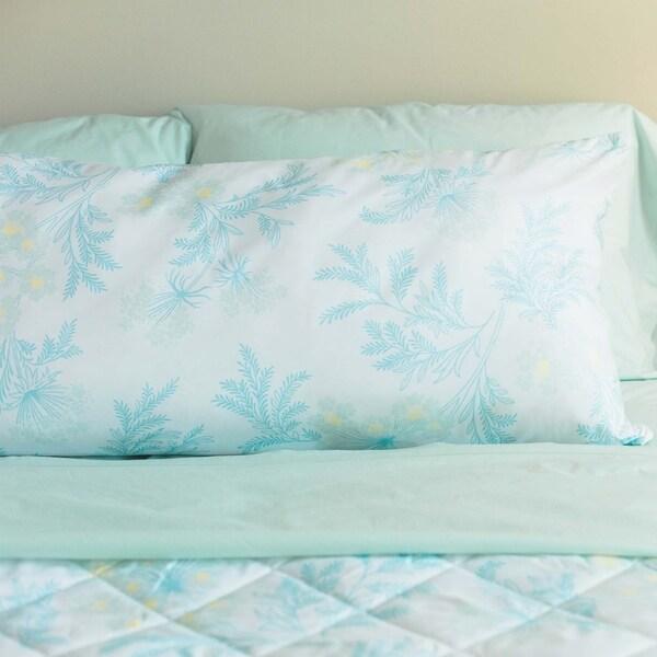 Laura Ashley Sandford Down Alternative Hypoallergenic Body Pillow (20 x 48) - White