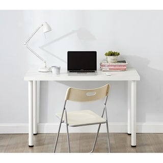 Yak About It Quick & Simple Desk - White