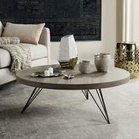 Safavieh Mansel Light Grey / Black Coffee Table (As Is Item)