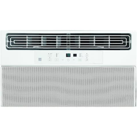 6,000 BTU Window Air Conditioner with Super Quiet Operation and Remote Control - White