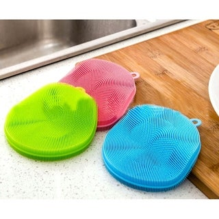 Link to 6pc Magic  Cleaning Sponge - Antibacterial Better Kitchen Scrubber Dishwashing Similar Items in Cleaning Supplies