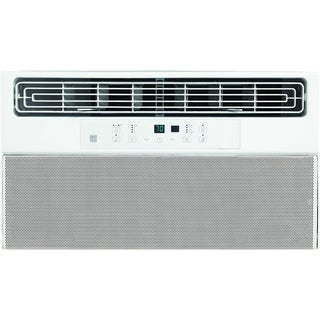 8,000 BTU Window Air Conditioner with Super Quiet Operation and Remote Control - White