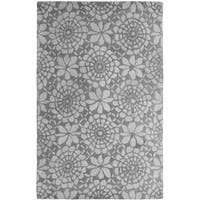 Palace Ivory/Grey Area Rug - 8' x 11'