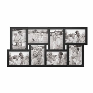 Link to Collage Picture Frame with 8 Openings for 4x6 Photos- Lavish Home (Black) Similar Items in Decorative Accessories