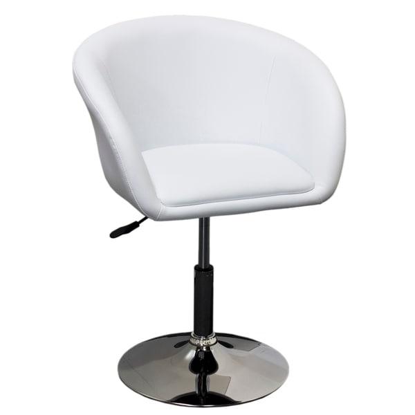 Best Master Furniture Adjustable Swivel Barrel Chair