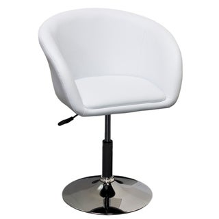 Best Master Furniture Adjustable Swivel Barrel Chair