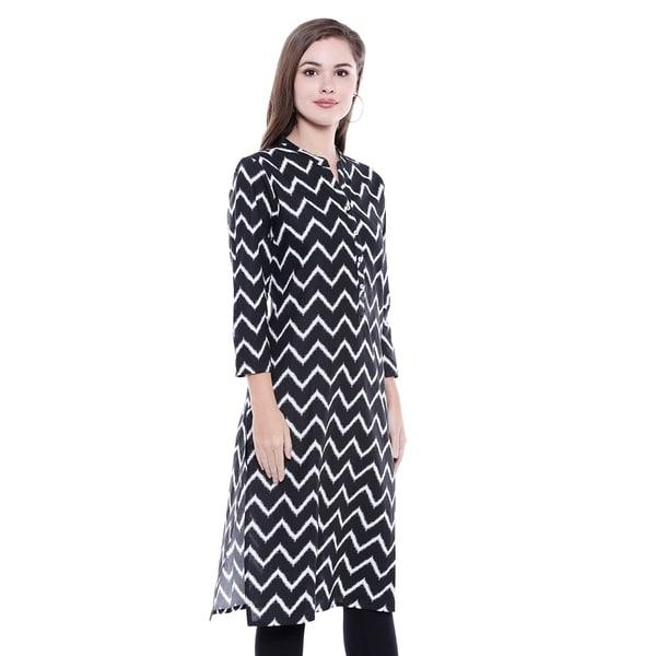 Women Cotton Long  Kurta Solid Kurta A-Line Fashion Tunic Girls  Plus Size