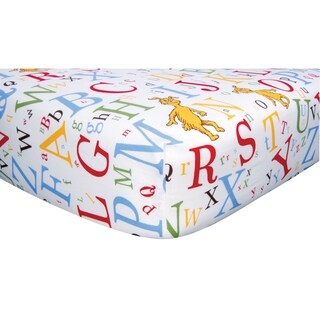 Dr. Seuss ABC Fitted Crib Sheet