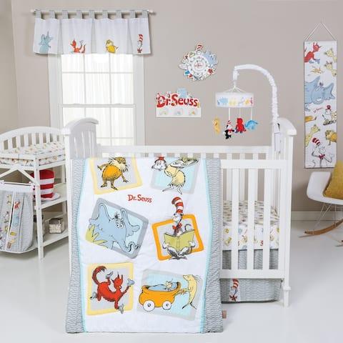 Dr. Seuss Friends 5 Piece Crib Bedding Set