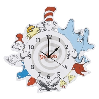 Dr. Seuss Friends Wall Clock