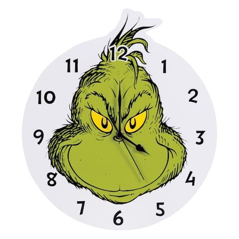 Dr. Seuss The Grinch Wall Clock
