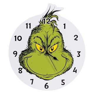 Dr. Seuss The Grinch Wall Clock