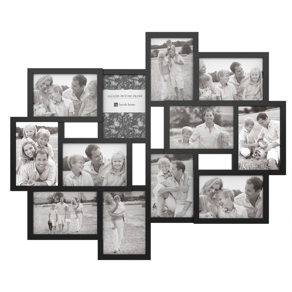 Shop Collage Picture Frame With 12 Openings For 4x6 Photos