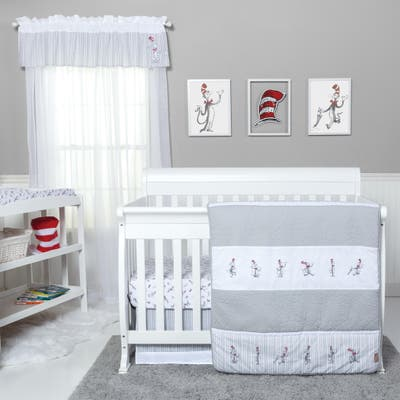 Dr. Seuss The Cat in the Hat Comes Back 4 Piece Bedding Set