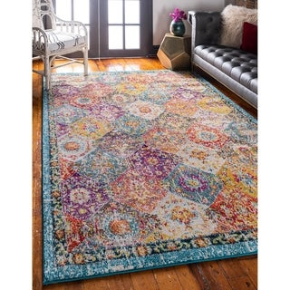 Link to Unique Loom Blake Penrose Area Rug Similar Items in Classic Rugs