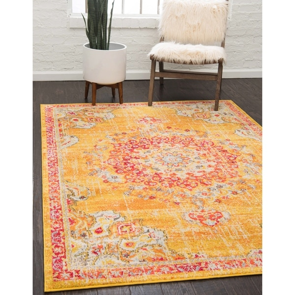 Shop Unique Loom Alexis Penrose Rug 10 X 14 Free Shipping