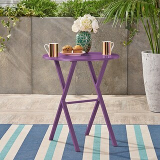 Taro Outdoor Bistro Table by Christopher Knight Home