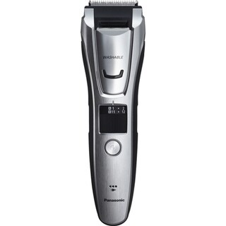 Panasonic Beard, Hair, and Body Trimmer with 3 Comb Attachments Silver