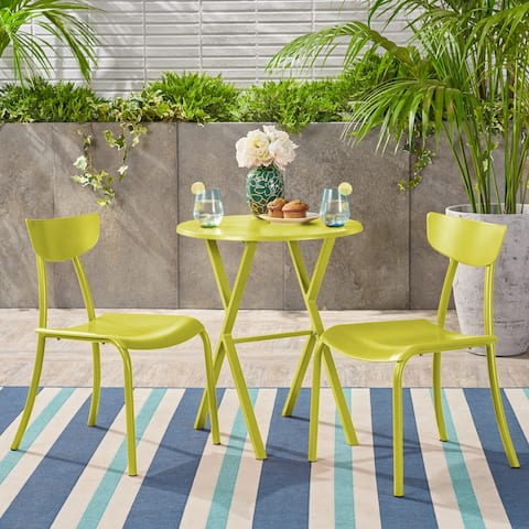 Taro Outdoor Bistro Set by Christopher Knight Home