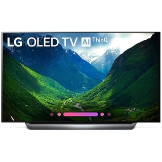 LG 65-inch Class OLED 4K HDR with Ultra Thin Cinema Screen OLED65C8PUA