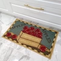 Maxy Home Cucina Apple Basket Kitchen Door Mat