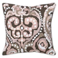 Kosas Home Blair Embroidered 22-inch Throw Pillow
