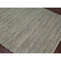 Flat-Weave Saratoga Jute & Cotton Rug - 5'x 8'