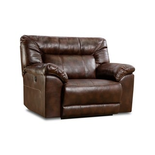 Simmons Upholstery Abilene Tobacco Power Cuddler Recliner