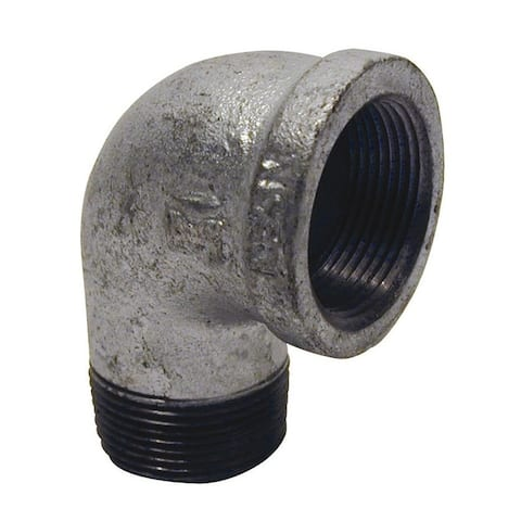 Mueller 3 in. Dia. x 3 in. Dia. FPT To FPT 90 deg. Galvanized Malleable Iron Street Elbow