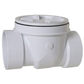 Sioux Chief 4 in. Dia. PVC PVC Backwater Value 5 psi